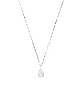 Diamond Halskette|14K Weissgold