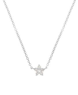 DIAMOND Halskette|14K Weißgold