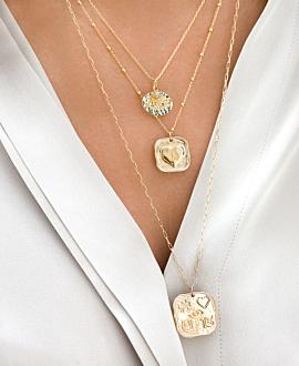 EVIL EYE Halskette Gold