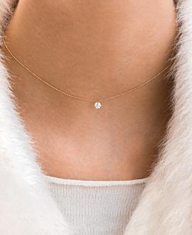 DIAMOND Halskette  18K Roségold