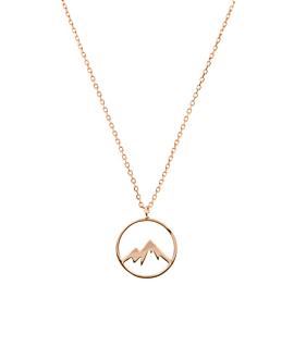 MOUNTAIN|Halskette Rosé