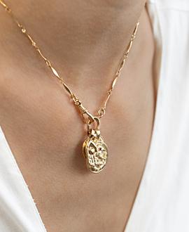 GANESHA  Halskette Gold
