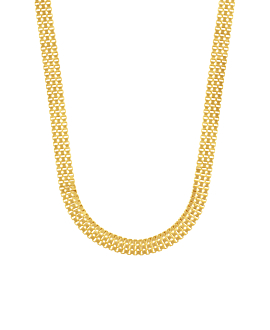 BOX CHAIN|Choker Gold