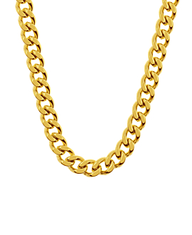 CURB CHAIN Halskette Gold