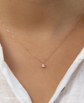 Diamond Halskette  14K Weissgold