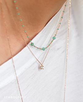 DIAMOND Halskette  14K Gold