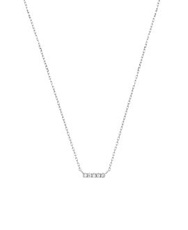 DIAMOND Halskette|10K Weißgold