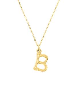 LETTER  Halskette B Gold