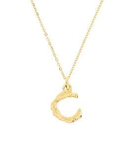 LETTER  Halskette C Gold