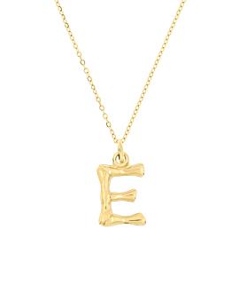 LETTER  Halskette E Gold