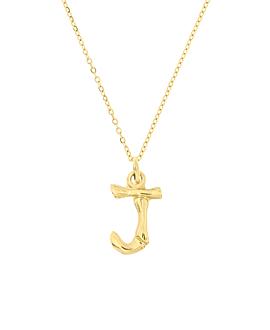 LETTER  Halskette J Gold
