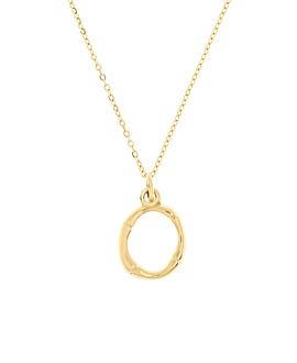 LETTER  Halskette O Gold