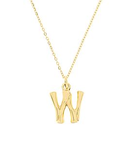 LETTER  Halskette W Gold