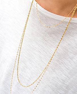 GLEAMING Halskette Gold