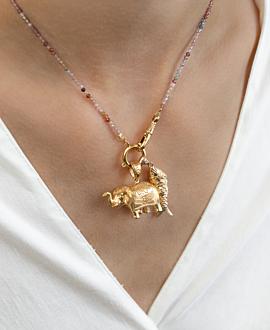 GOLDEN LUCK  Halskette Bunt