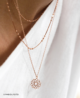 SAHASRARA Halskette Gold