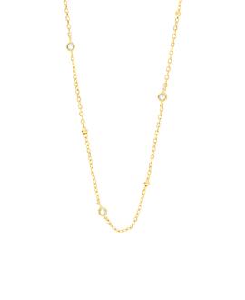 TOPAZ BEADS  Halskette Gold