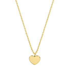 HERZ|Halskette Gold
