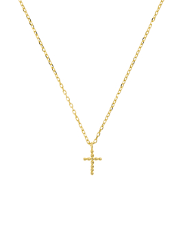 CROSS  Halskette Gold