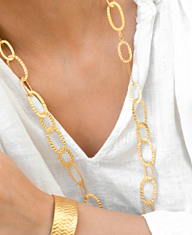 LILOU  NECKLACE GOLD