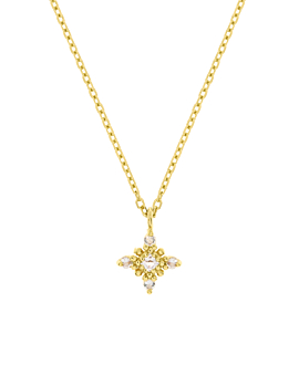 NORTH STAR  Halskette Gold