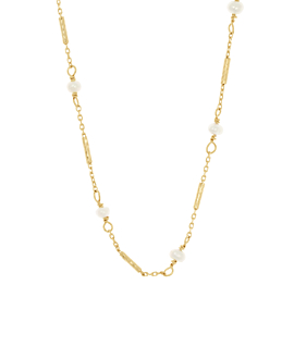 GRACIOUS PEARLS|Halskette Gold