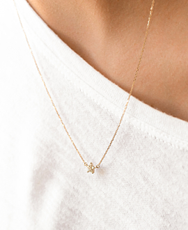 DIAMOND Halskette 14K Gold