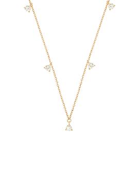 DIAMOND Halskette|14K Gold