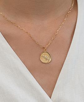 LAURIER  Halskette Gold