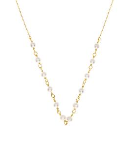 PEARL|Halskette 10K Gold