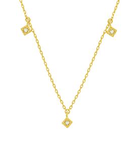 TOPAZ  Halskette Gold