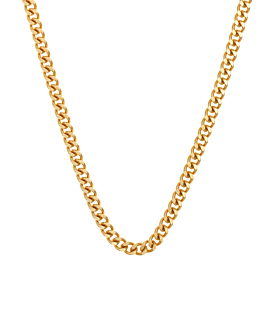 CURB CHAIN|Choker Gold