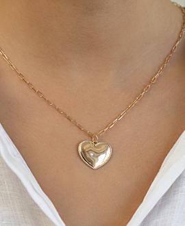 L'AMOUR  Halskette Gold