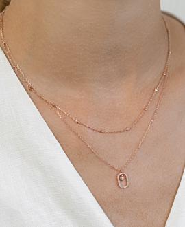 DARLING  Halskette Rosé