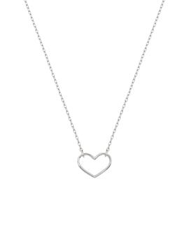 HEART Halskette Sterling Silber
