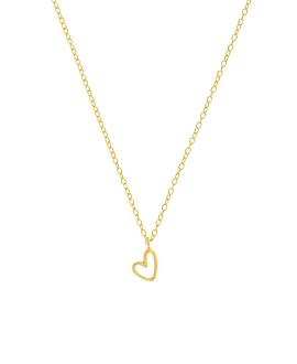 TRUE LOVE|Halskette Gold