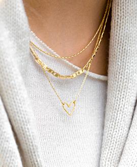 FANTASY CHAIN  Halskette Gold