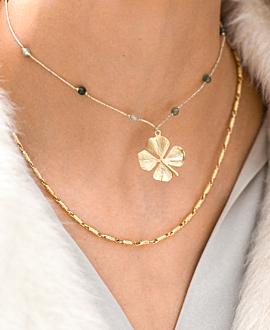 GLARE Halskette Gold