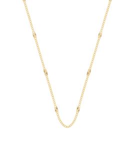 SELENE|Halskette Gold