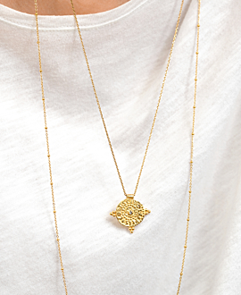 ETHNO COIN  NECKLACE GOLD