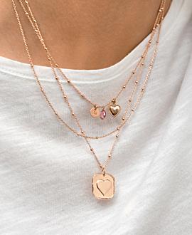 TALISMAN Halskette Rosé