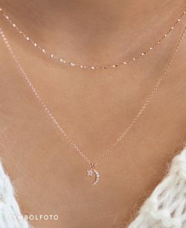 STARRY SKY  Halskette Silber