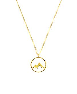 MOUNTAIN Halskette Gold