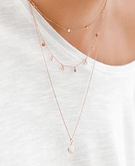 GYPSY Halskette Rosé