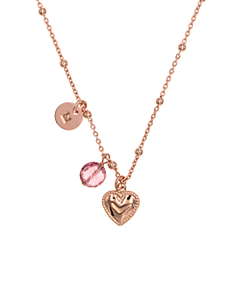 KIND HEART|Halskette Rosé
