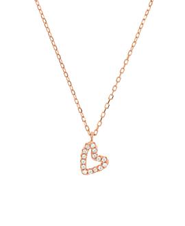 TRUE LOVE  Halskette Rosé