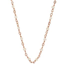PEARL|Halskette Rosé