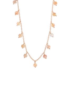 OPAL  Halskette Rosé