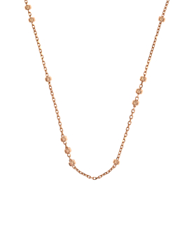 LACY  NECKLACE ROSE