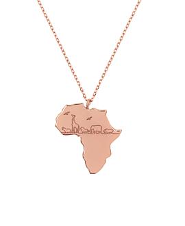 AFRICA|Halskette Rosé